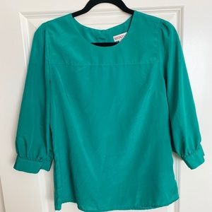 Green/Mint Blouse from Target - size medium